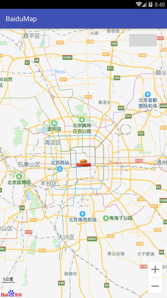 Android Studio 调用百度地图SDK