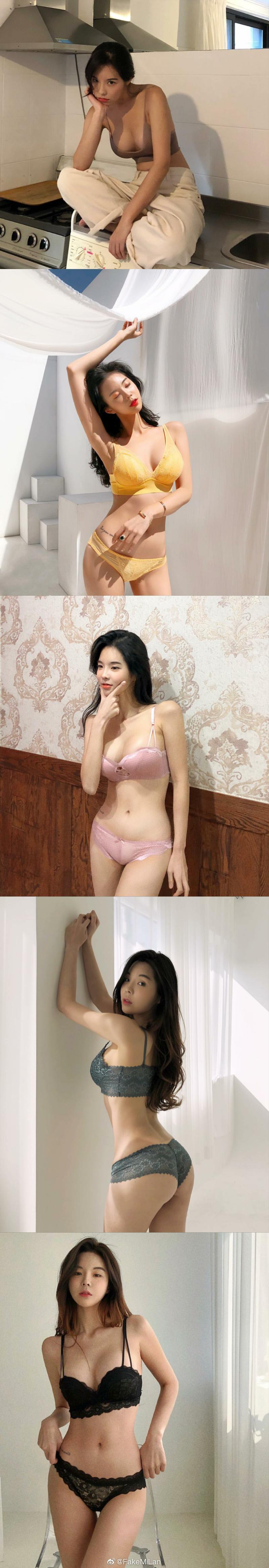 韩国网红店主강혜지  老板娘亲身上阵 各种情趣内衣眼花缭乱 发现美
