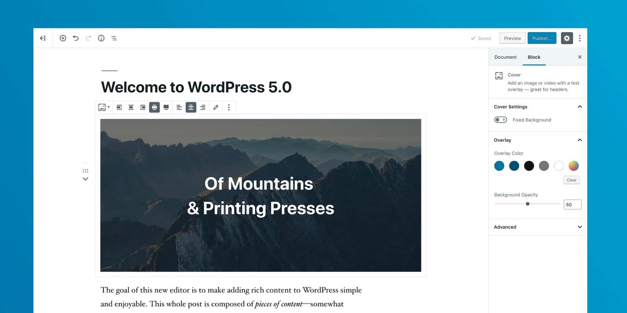 《两行代码禁用 WordPress 5.0 的 Gutenberg(古腾堡) 编辑器》