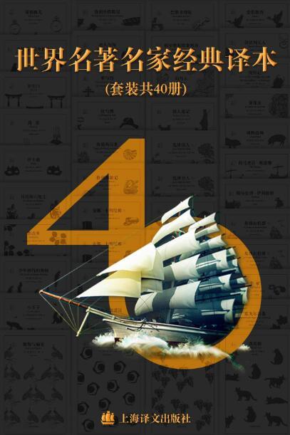 《世界名著名家经典译本·译文40 (套装40册)》epub+mobi+azw3