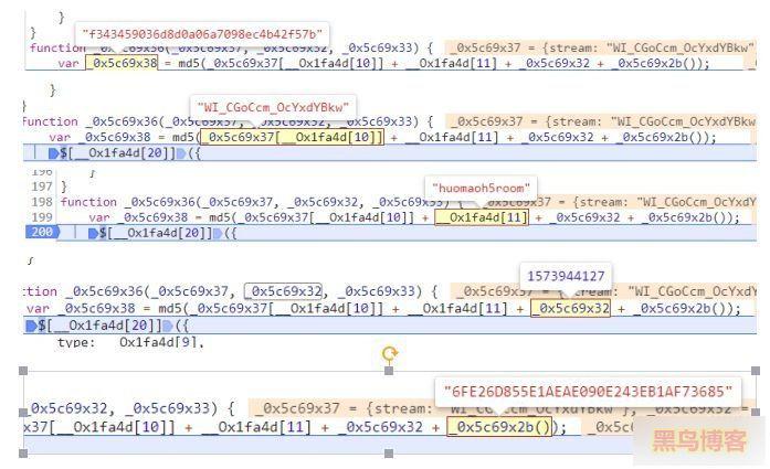 《火猫直播间视频源真实地址分析》