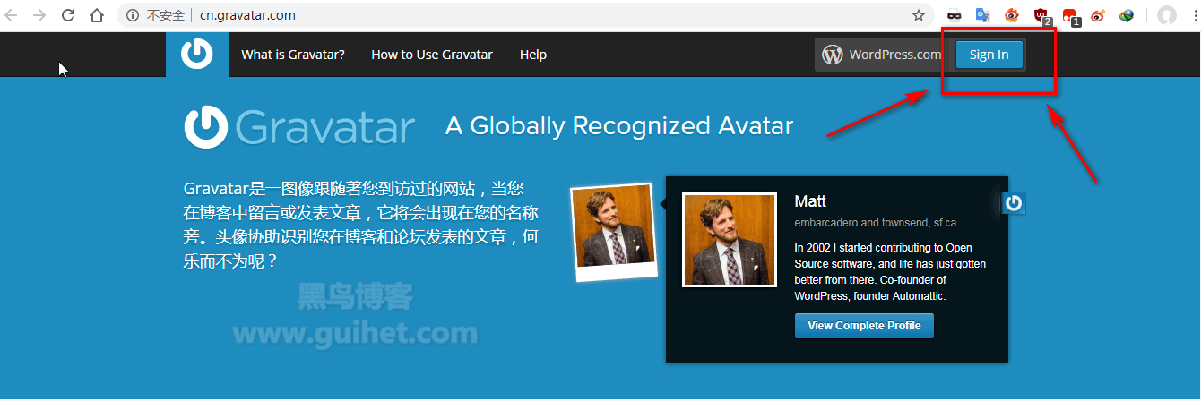 《网站服务器缓存Gravatar头像》