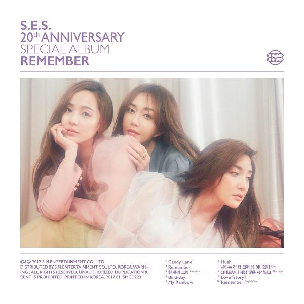 S.E.S. - Remember(S.E.S. 20th Anniversary Special Album)[320K/MP3]