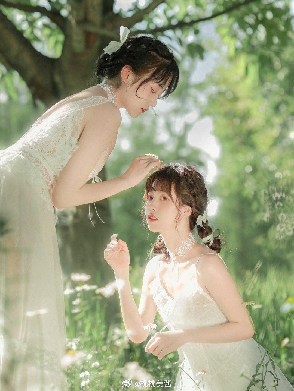 公主日记Daisy 夏日的雏菊和蝉鸣都在说我喜欢你...美女
