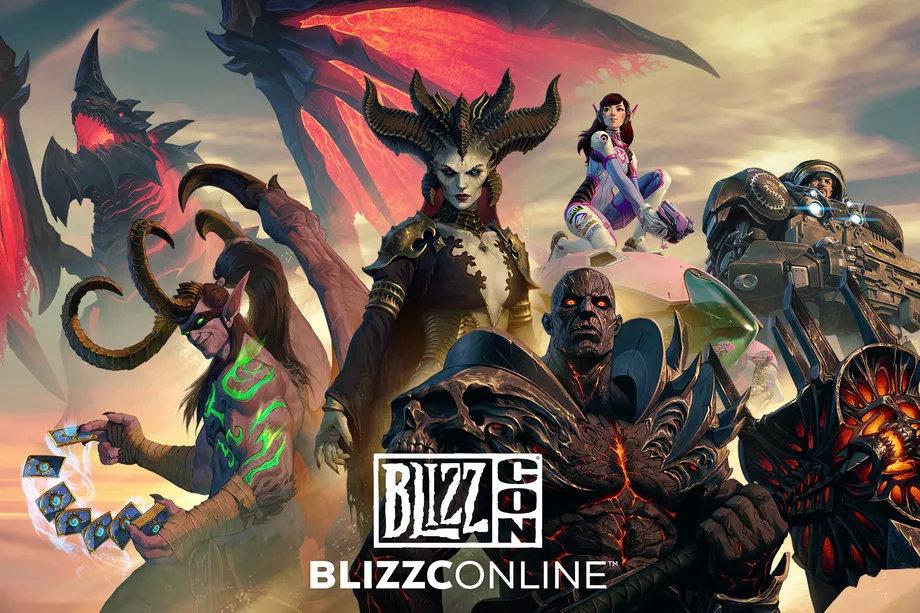 暴雪游戏丨暴雪嘉年华(BlizzCon 2021)活动启动