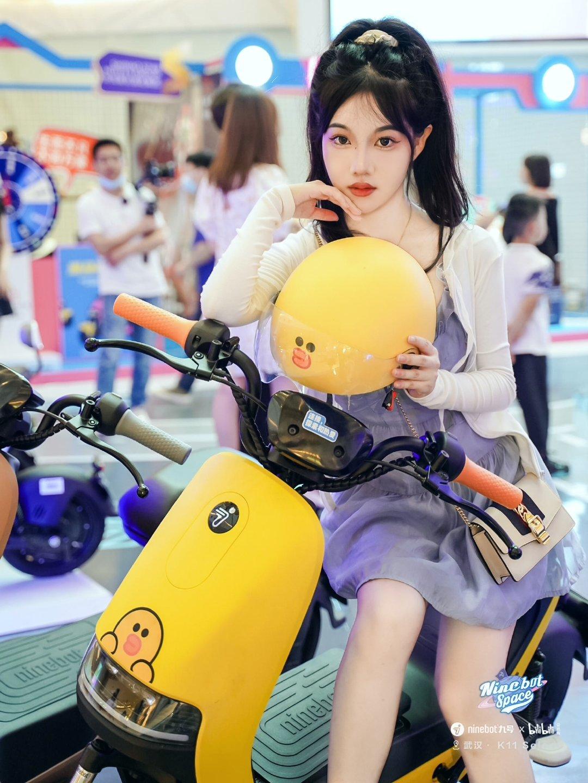 公主日记NinebotSpace来武汉光谷K11啦美女