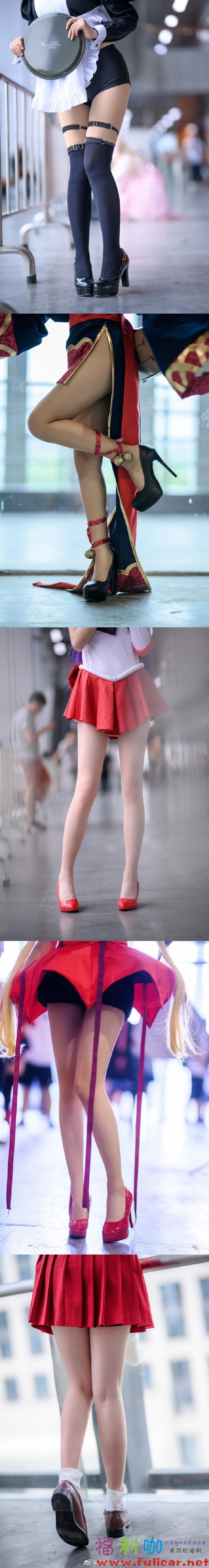萤火虫漫展大长腿集合@扒拉丨Eiuo