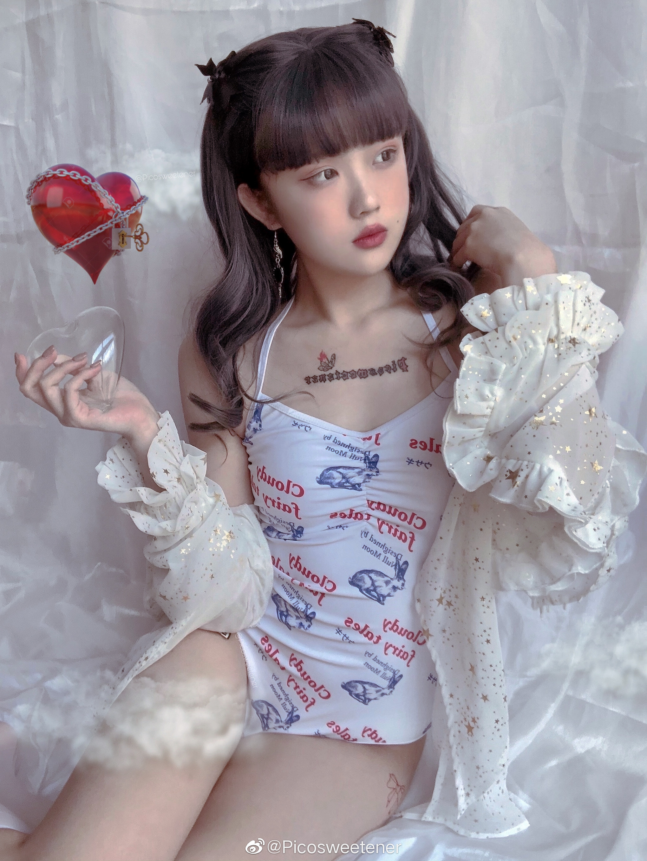 白兔糖水着限定 美女写真-第1张