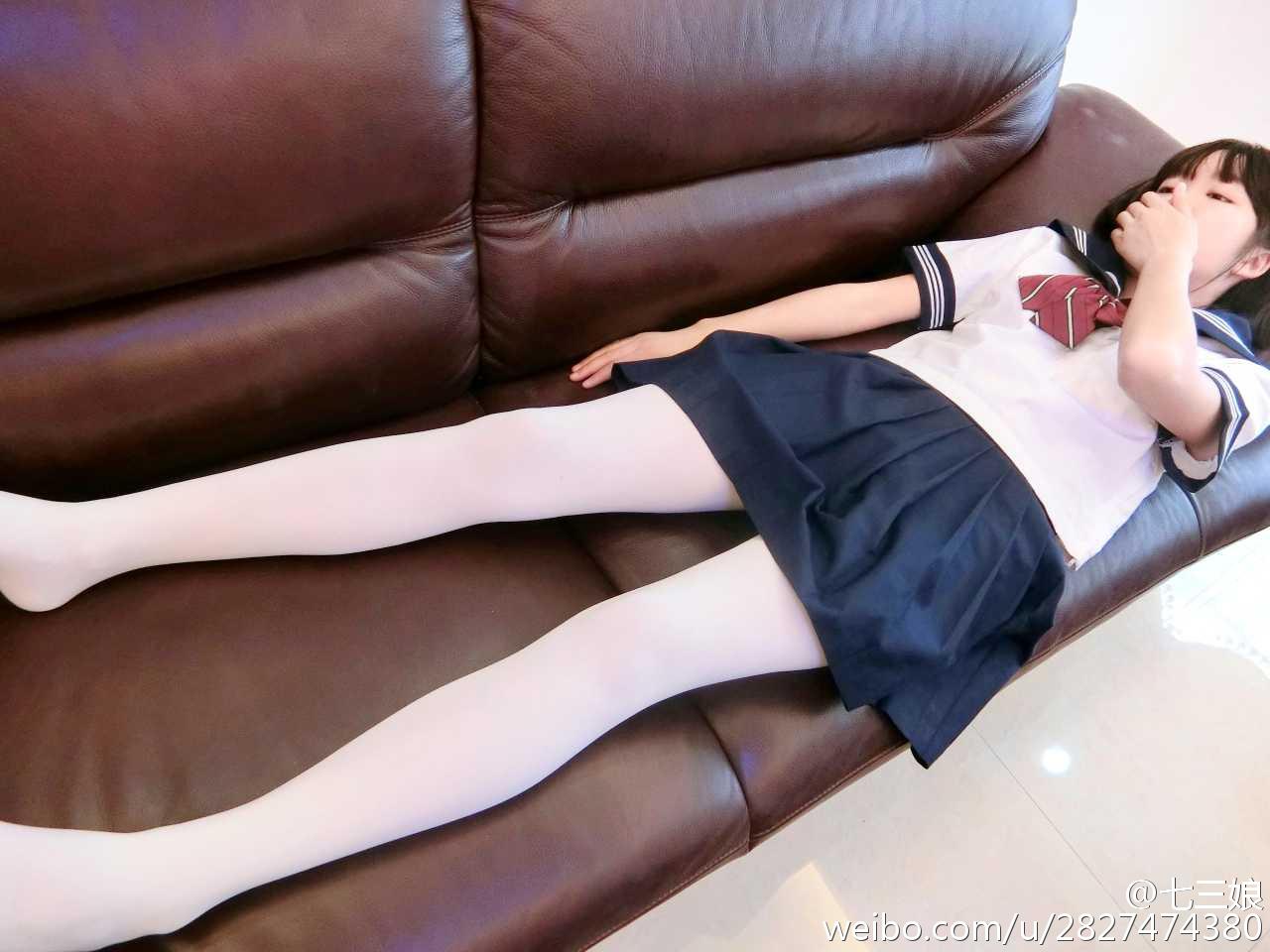 七三娘 今天的萌妹!!![doge]最后一张是动_美女福利图片(图3)