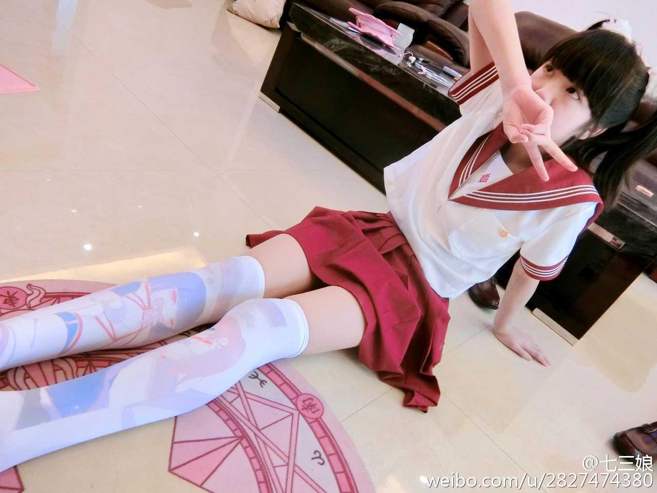 七三娘 今天的萌妹!!![doge]最后一张是动_美女福利图片(图4)
