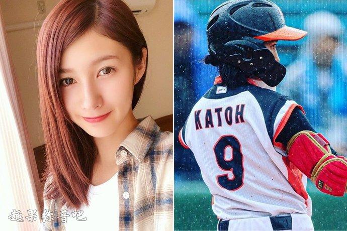 棒球美眉「加藤优」:喜欢运动的女孩子都很美-爱趣猫