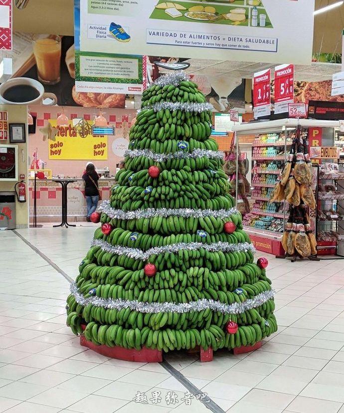 各行各业的专属圣诞树:一看就知道这里是做什么的!-爱趣猫
