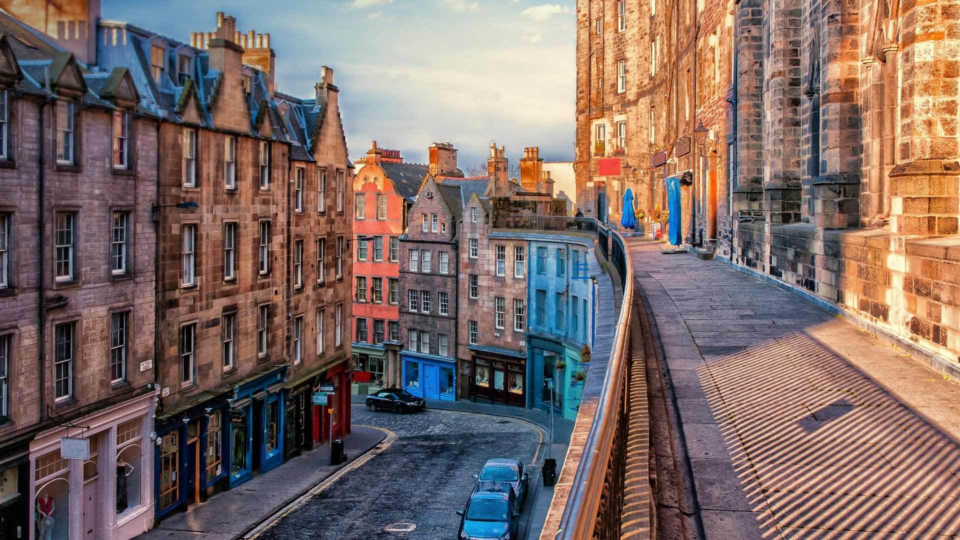 爱丁堡老城