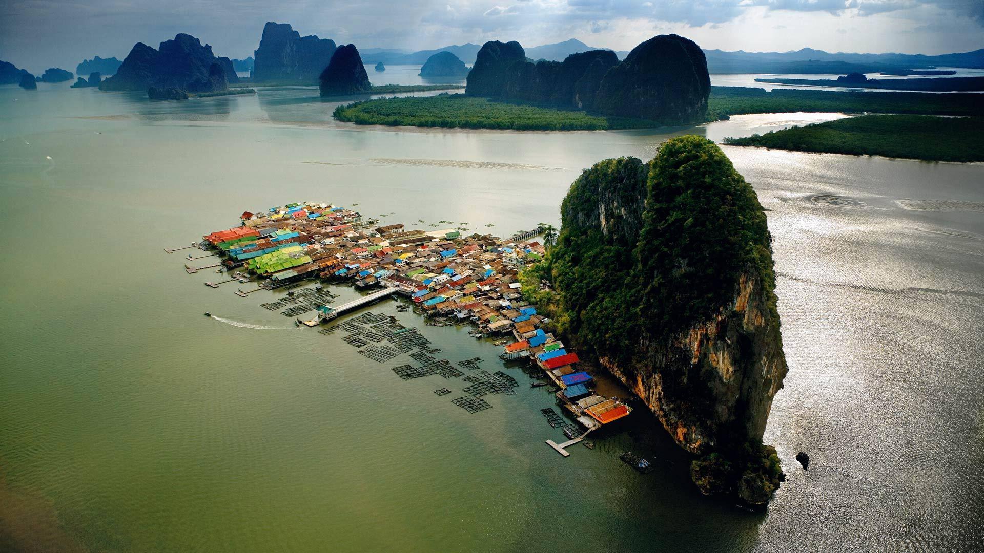 水上漂浮的村落
