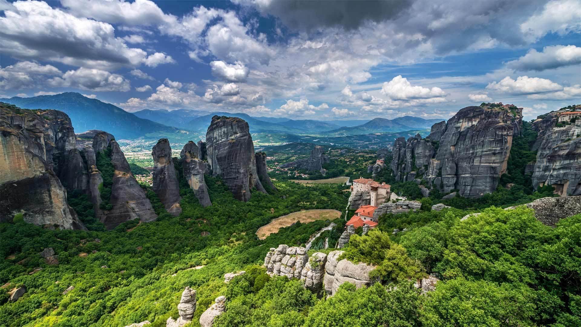 山顶的修道院