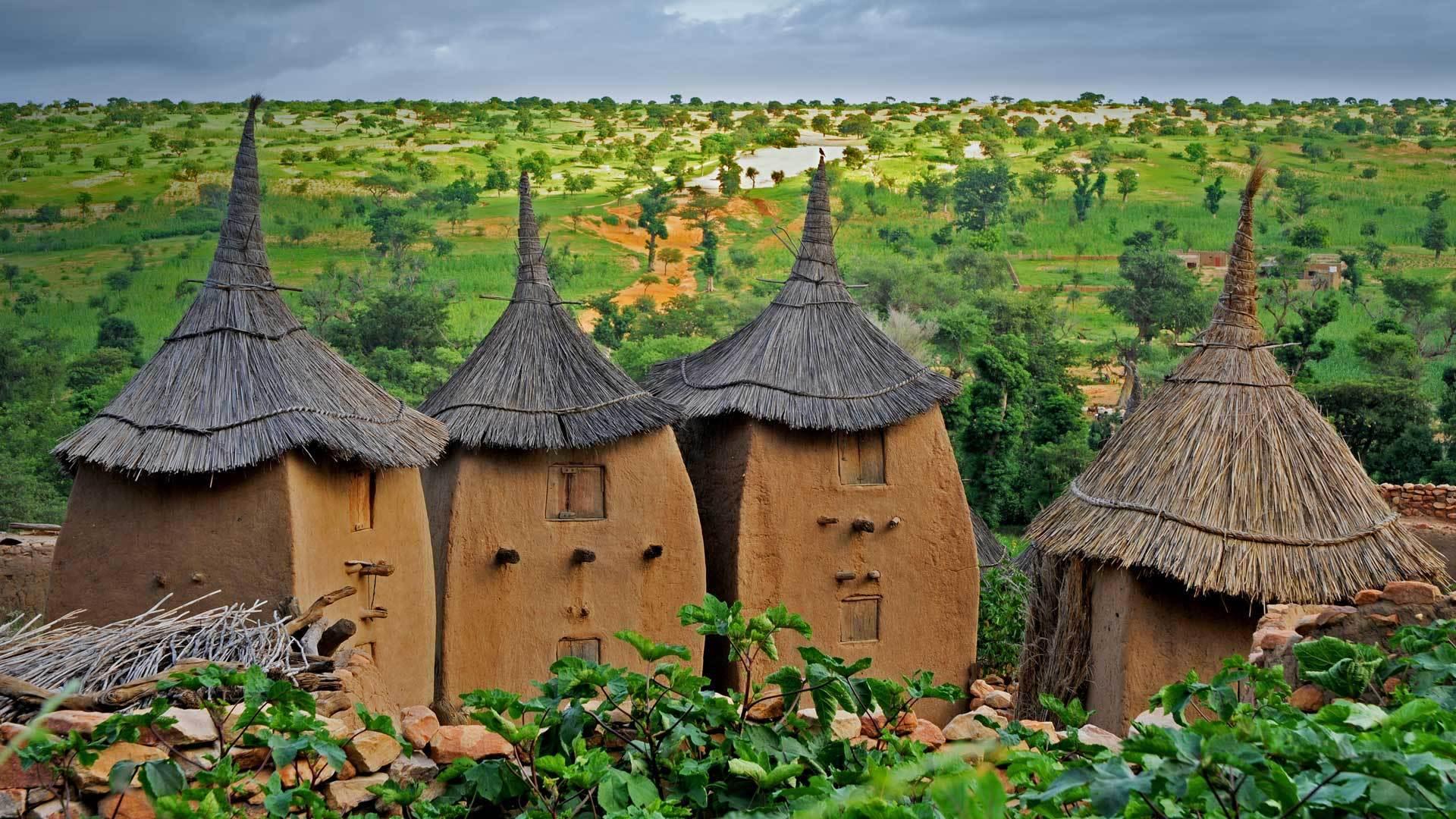 神奇的村落