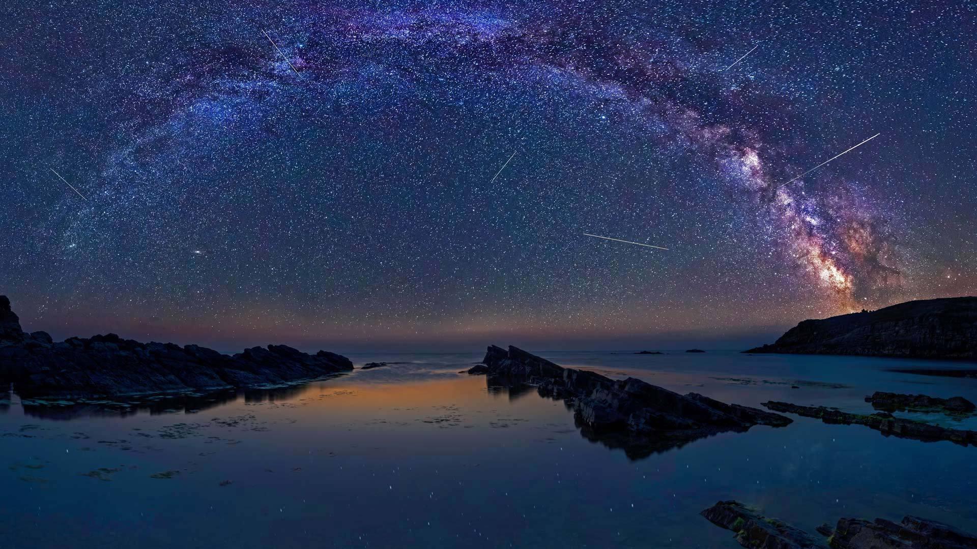 大气层与彗星的吻