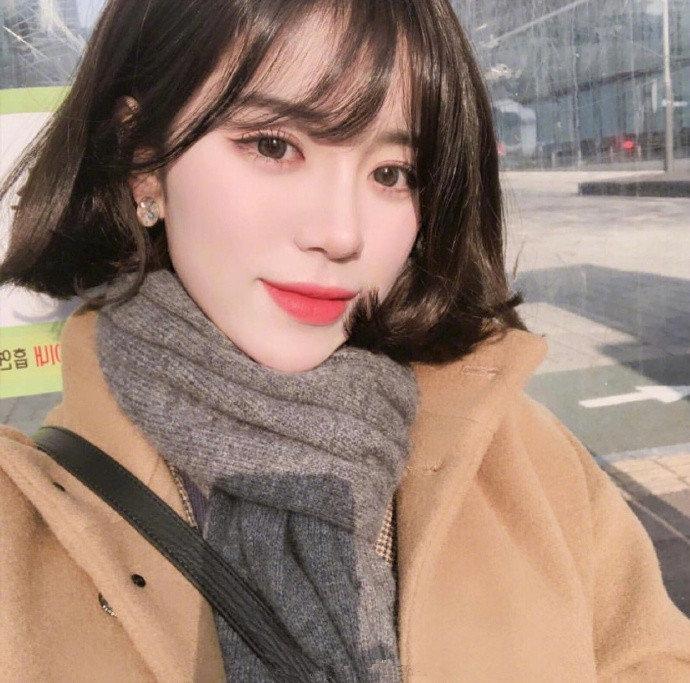 软萌的空气网红刘海发型