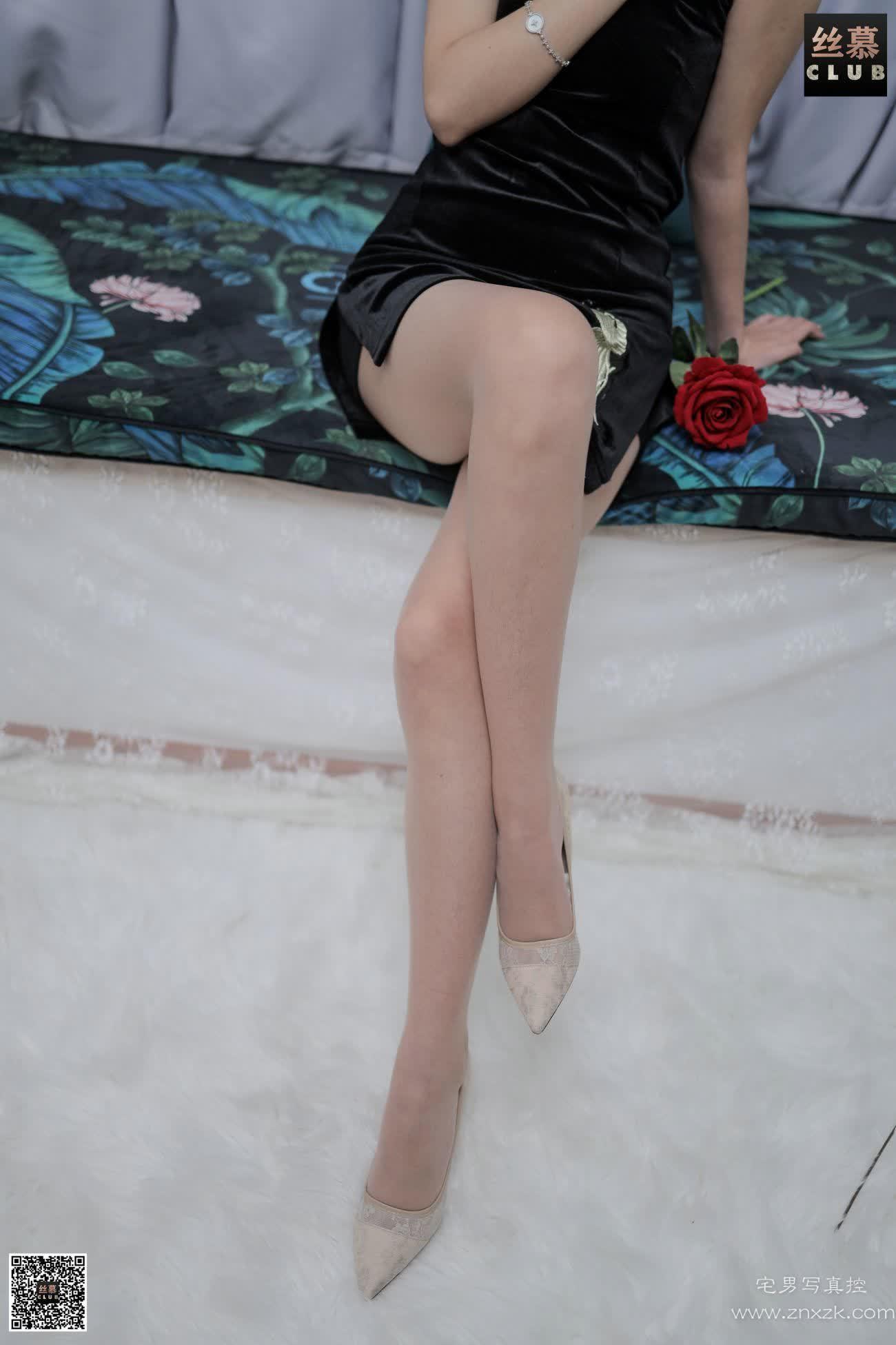 丝慕GIRL SM129 文欣 开衩旗袍是什么体验