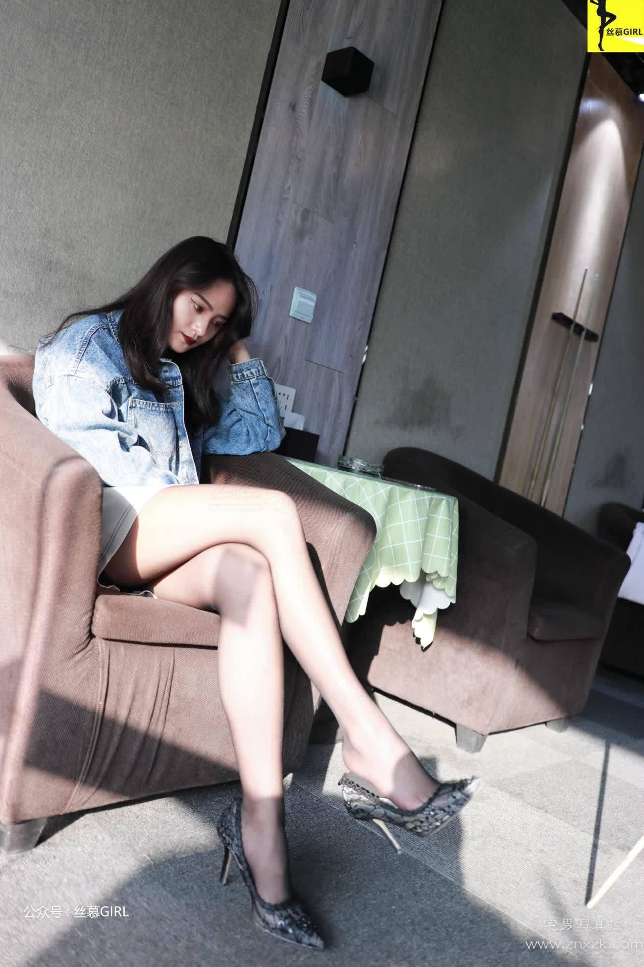 丝慕GIRL No.023 Miya 台球与黑丝