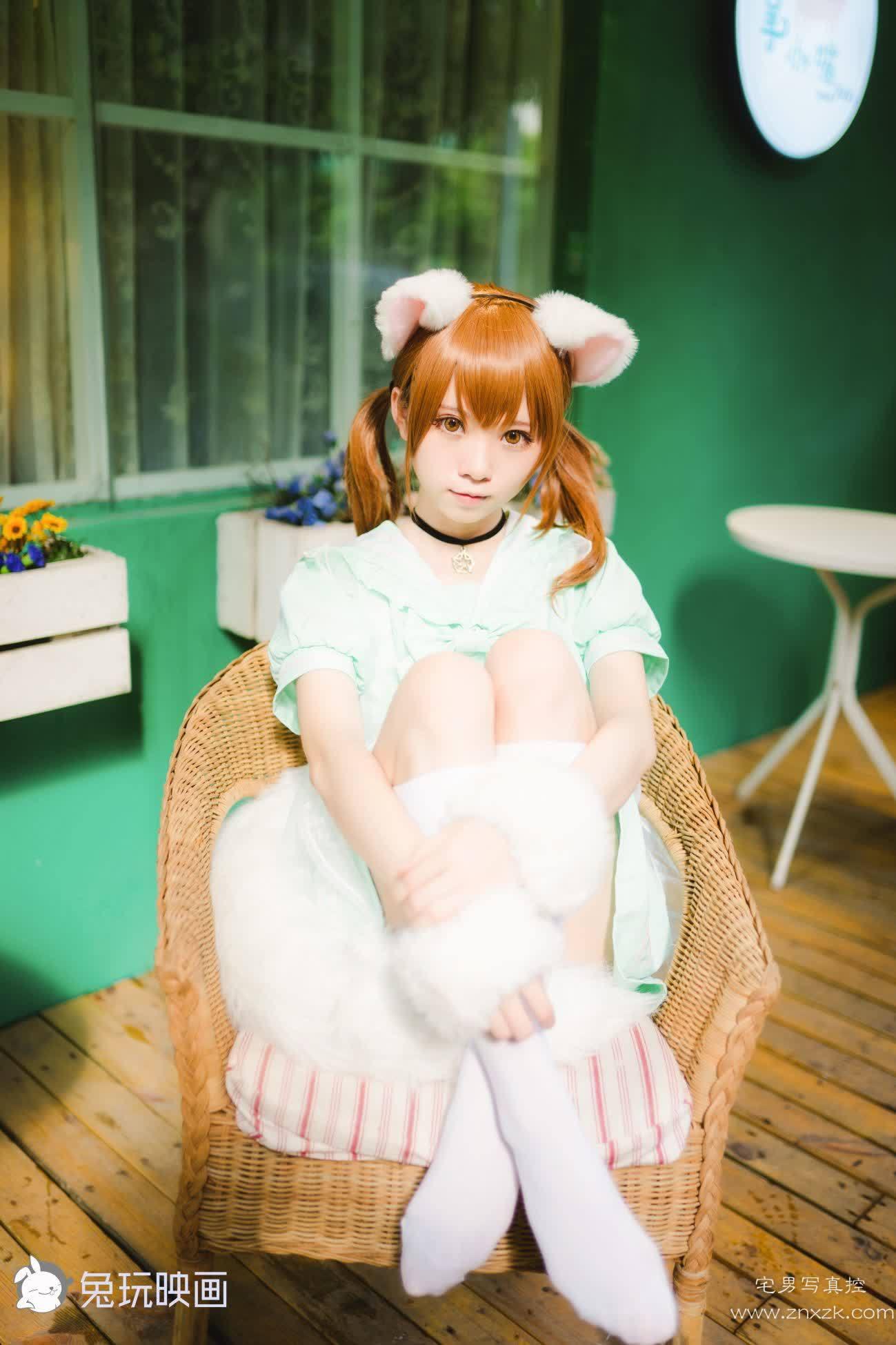 兔玩映画 白喵喵喵