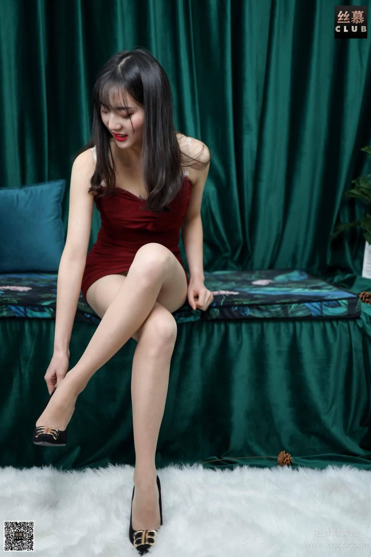 丝慕GIRL SM166 佳佳 藏不住的丝欢你