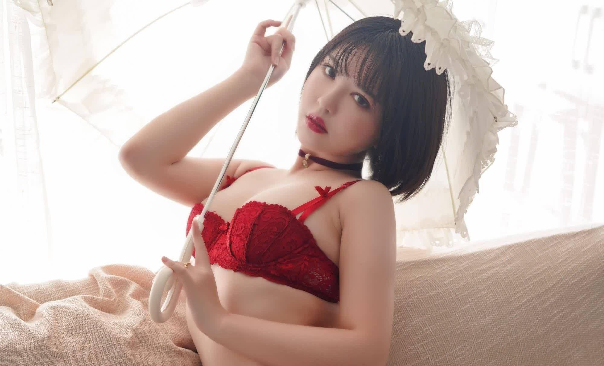 福利姬——半半子——《赤红》