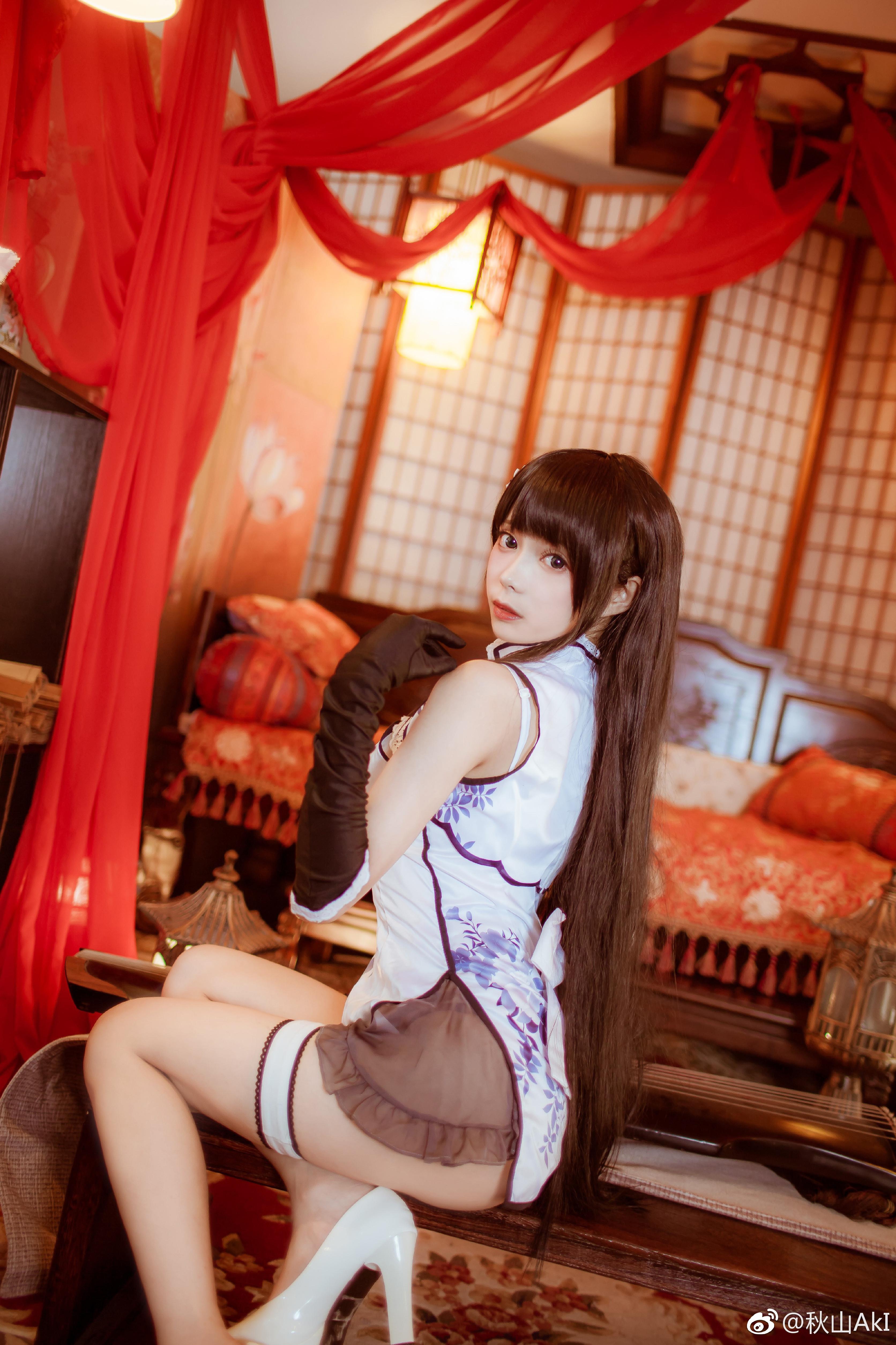 秋山AkI艳娘幻梦谭 好久没发片,和我老婆来一次c_美女福利图片