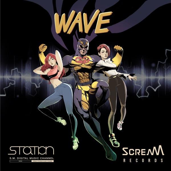 R3hab、Amber(f(x))、Luna(f(x))、Xavi.Gi - Wave[320K/MP3]