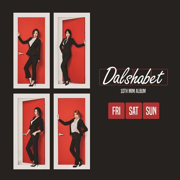 Dal★shabet - FRI. SAT. SUN[320K/MP3]