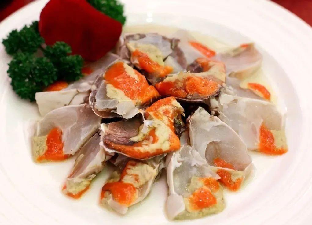 红膏呛蟹,配白米饭绝佳。 图/汇图网