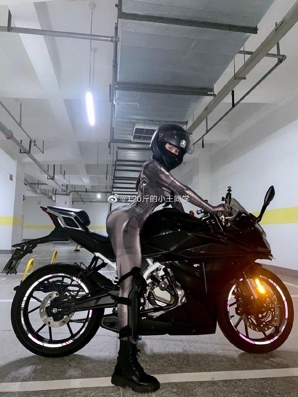 蜘蛛侠机车女骑士 这是真正的摩托骑士定义 liuliushe.net六六社 第8张