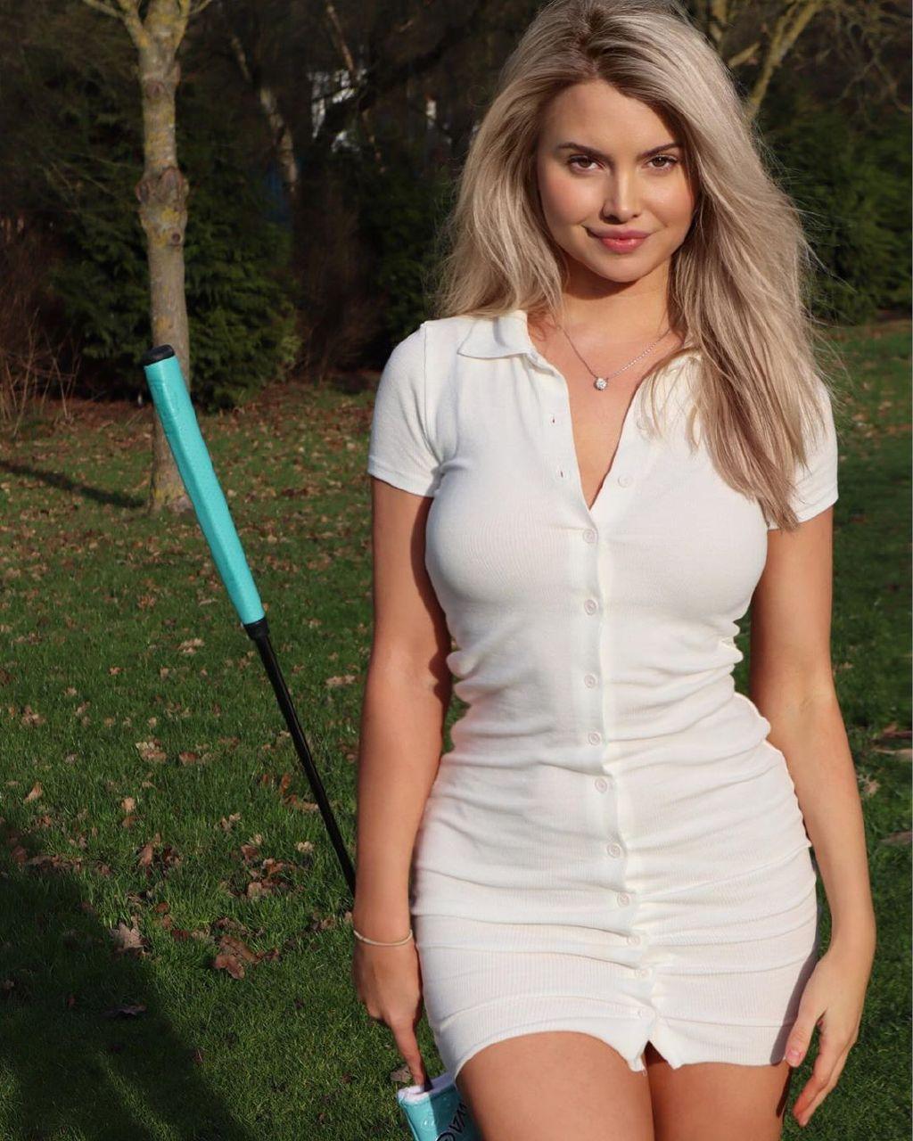 教练,我想打高尔夫!