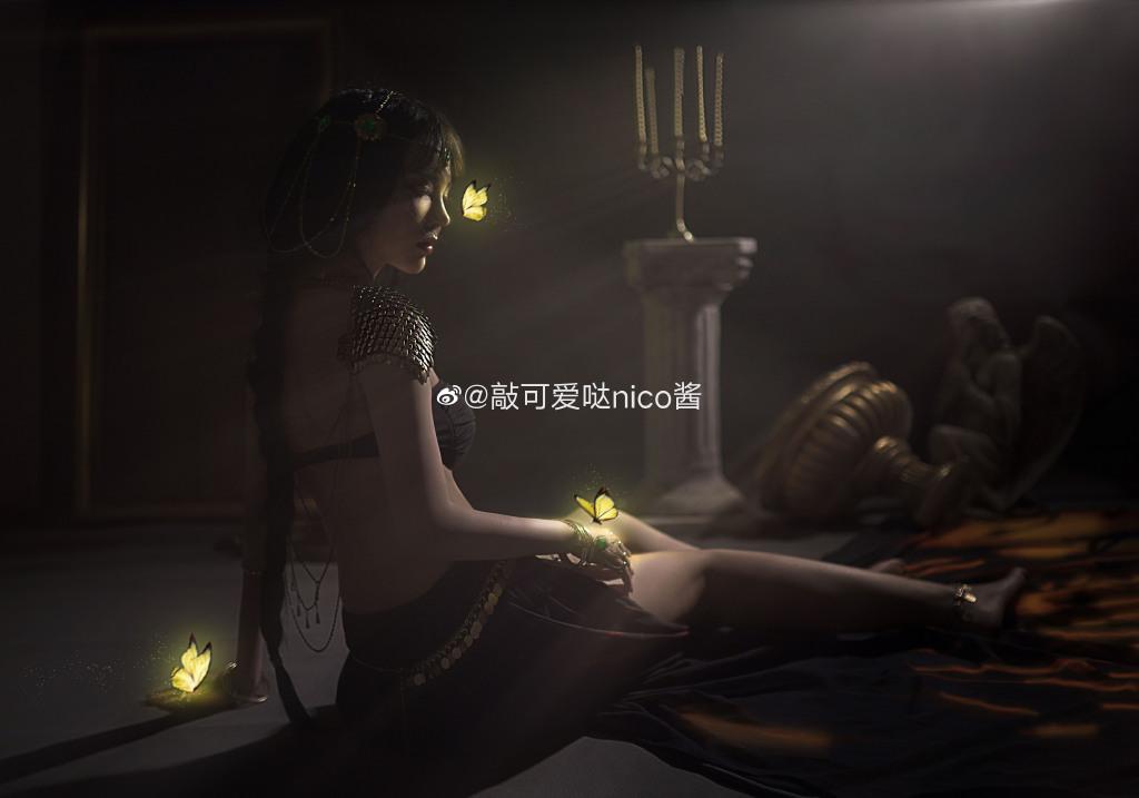[COS]鬼刀 风铃公主 @敲可爱哒nico酱 COSPLAY-第5张