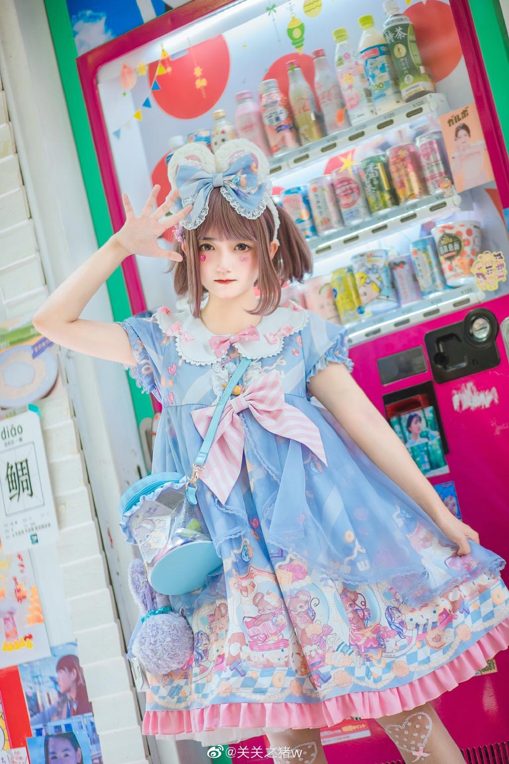 [LOLITA] bobo甜鼠 @关关之猪w 时尚-第2张