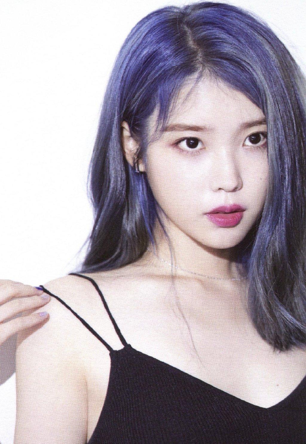 蓝发IU合集,真的好美