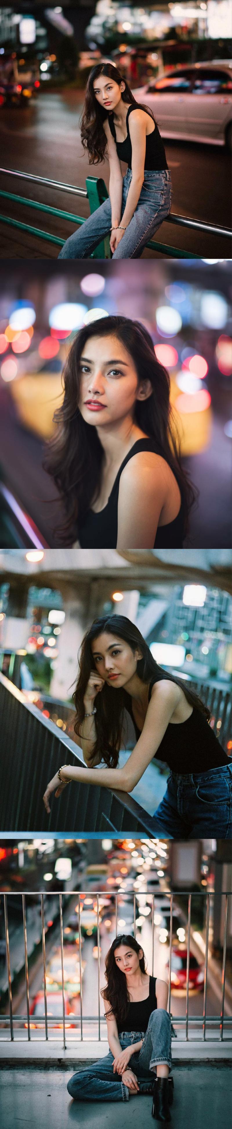 赵梦洁和泰国模特mind比起谁更好看?