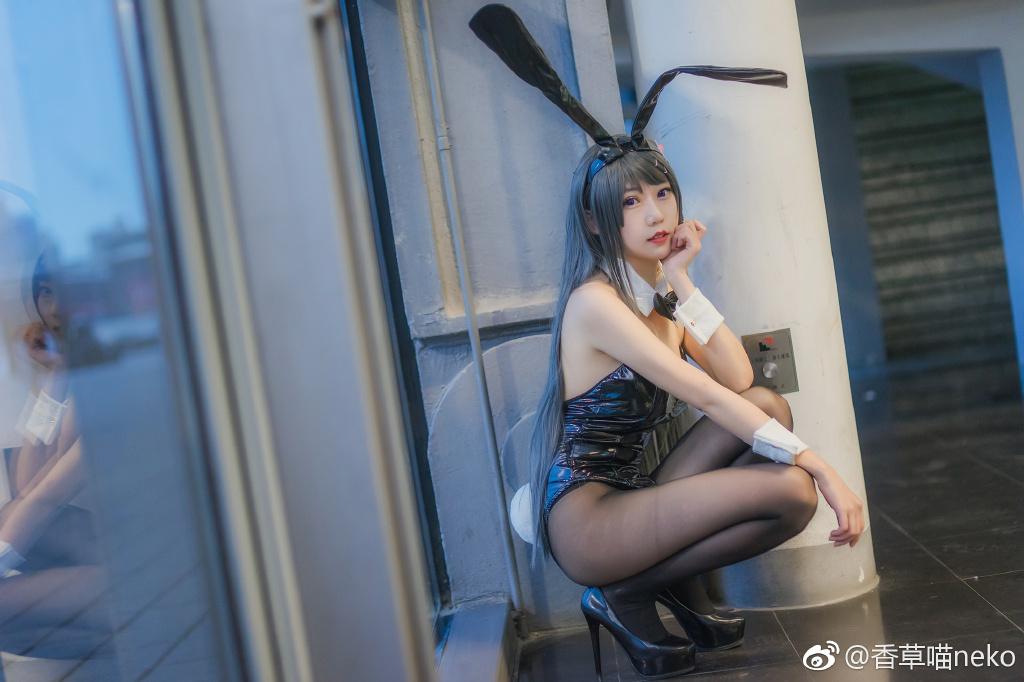 今日妹子推荐@香草帕帕 小黑兔的日常