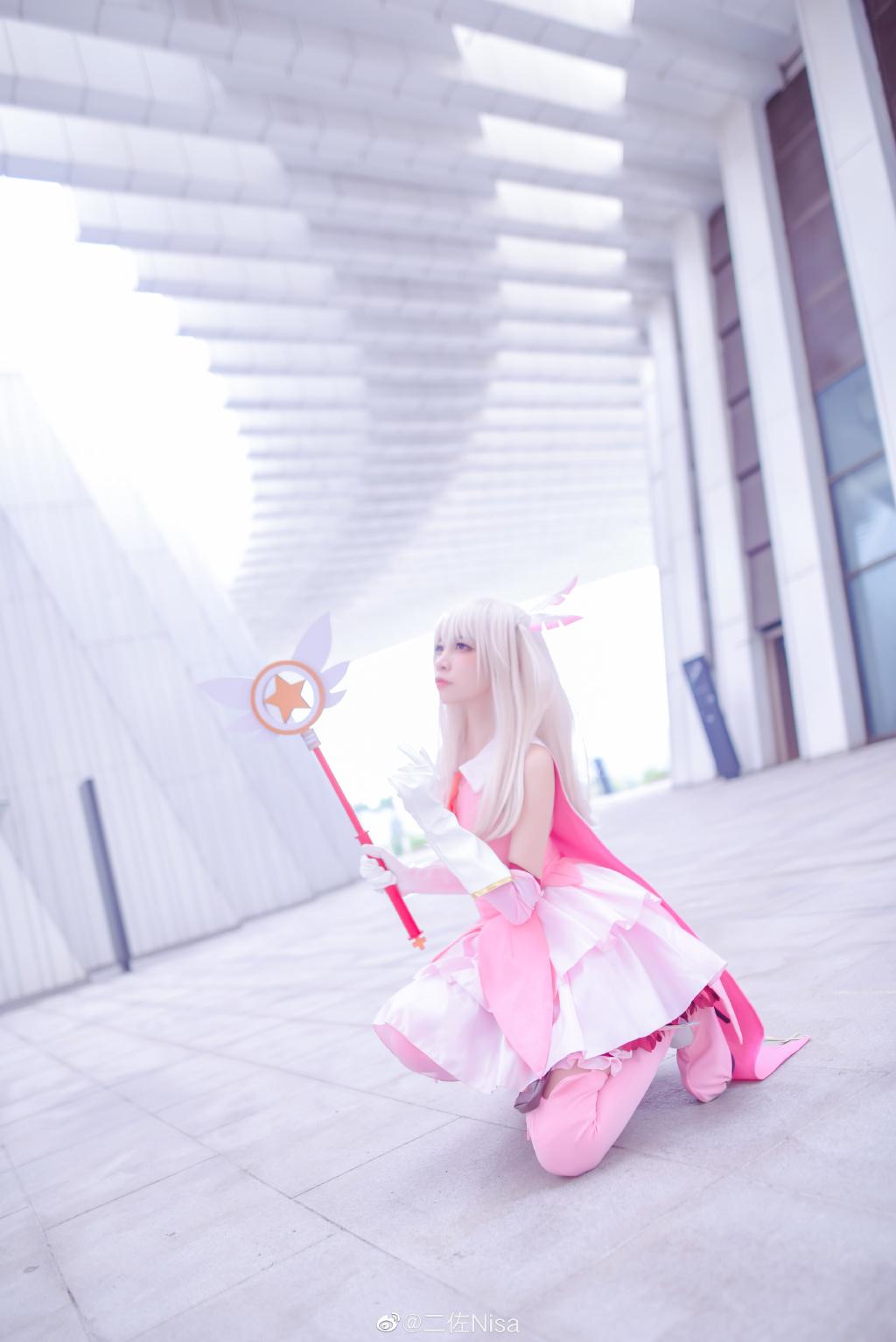 [COS]魔法少女 伊莉雅 @二佐Nisa COSPLAY-第7张