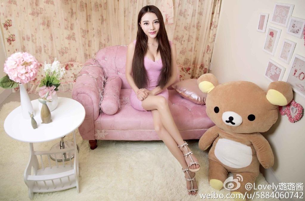 熊猫TV女主播:Lovely璐璐酱 有人说她像允儿! liuliushe.net六六社 第7张