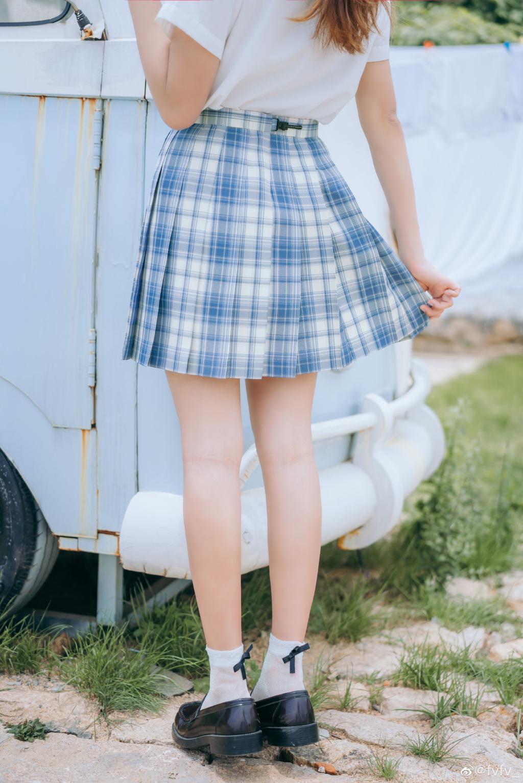 [JK制服]  jk日常 「 海 岛 风 眠 」@fvfv_ 时尚-第5张
