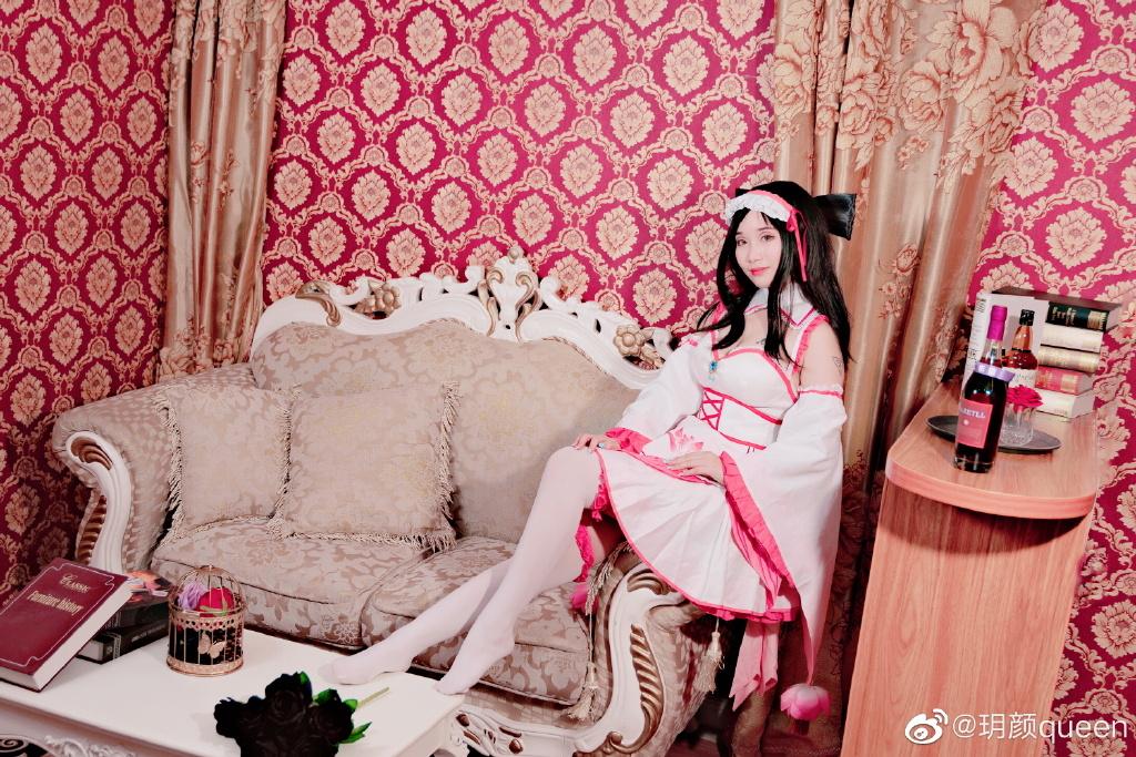[COS]王者荣耀cos 貂蝉 @玥颜queen COSPLAY-第5张