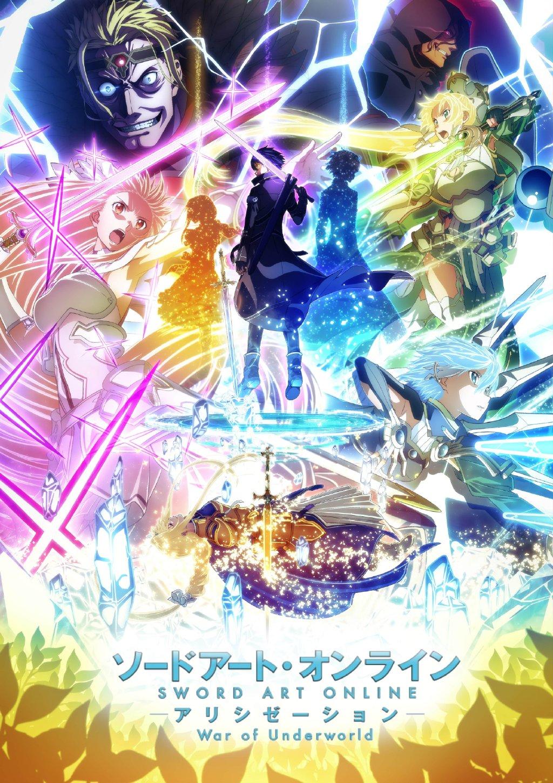 TV动画「刀剑神域 Alicization War of Underworld」第2季度2020年4月播出,新视觉图公开
