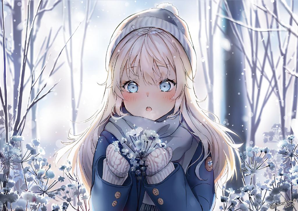 【P站画师】精 灵 少 女!芬兰画师Sunako的插画作品- ACG17.COM