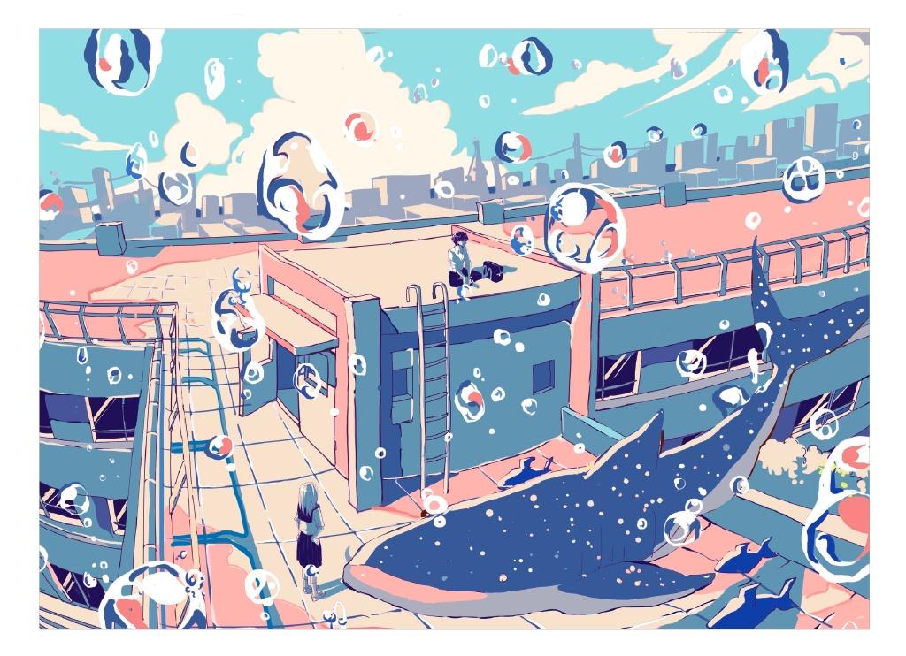 【P站画师】梦幻的泡影,日本画师いちご飴的插画作品- ACG17.COM