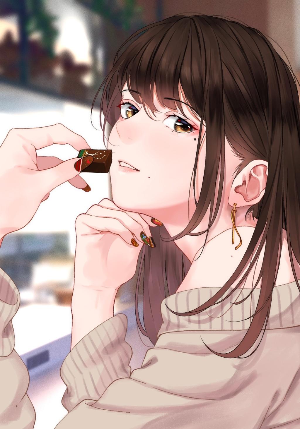 P站精选&黑丝、泪痣与眼镜娘!日本画师サイトー的插画作品