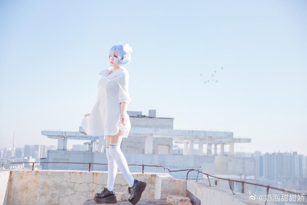 [COS]从零开始的异世界生活 蕾姆cos @奶泡甜甜娇 COSPLAY-第2张