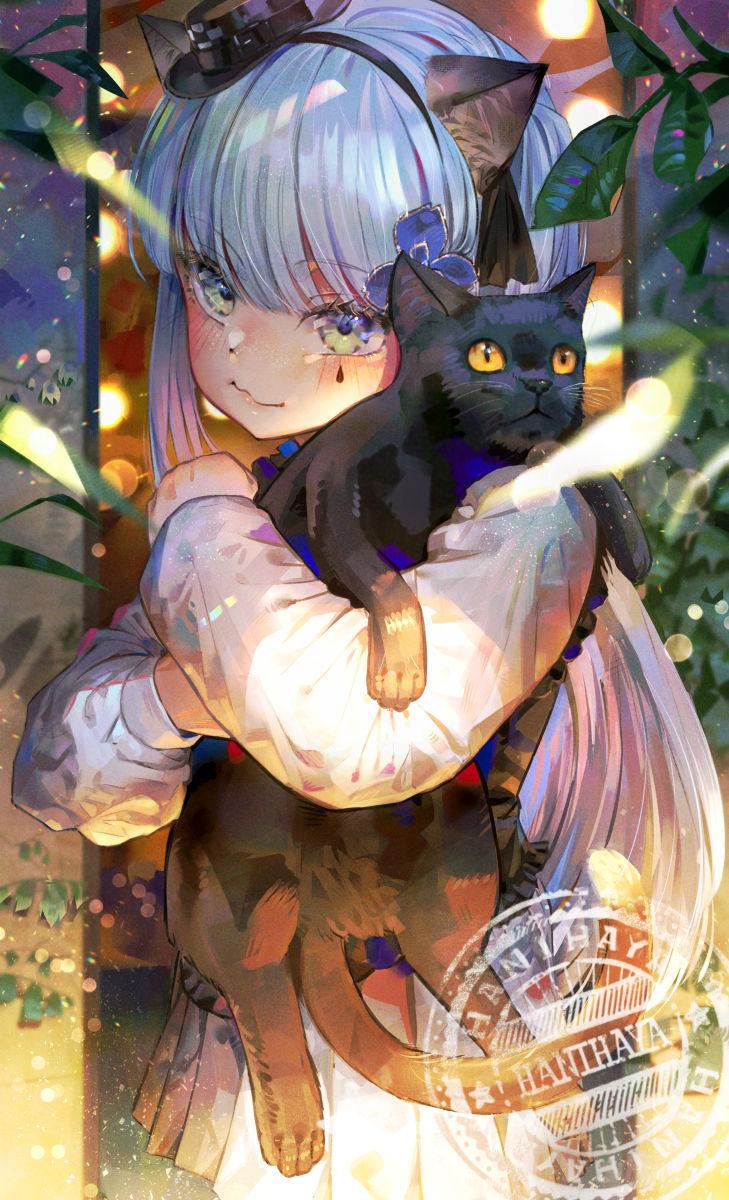 "【P站美图】有猫咪的插画特辑 - 今天是""#猫之日""!"