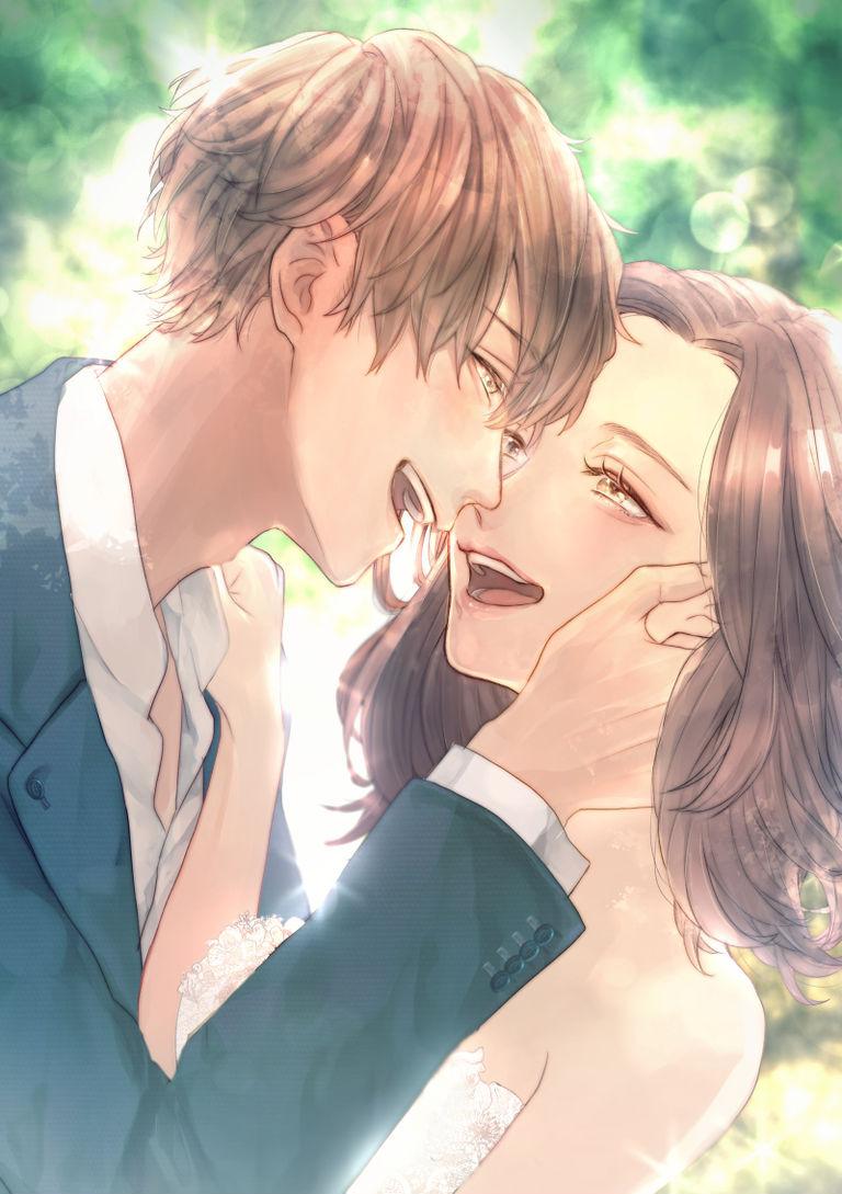 【P站美图】婚礼插画特辑 - 只属于两人的幸福形式。