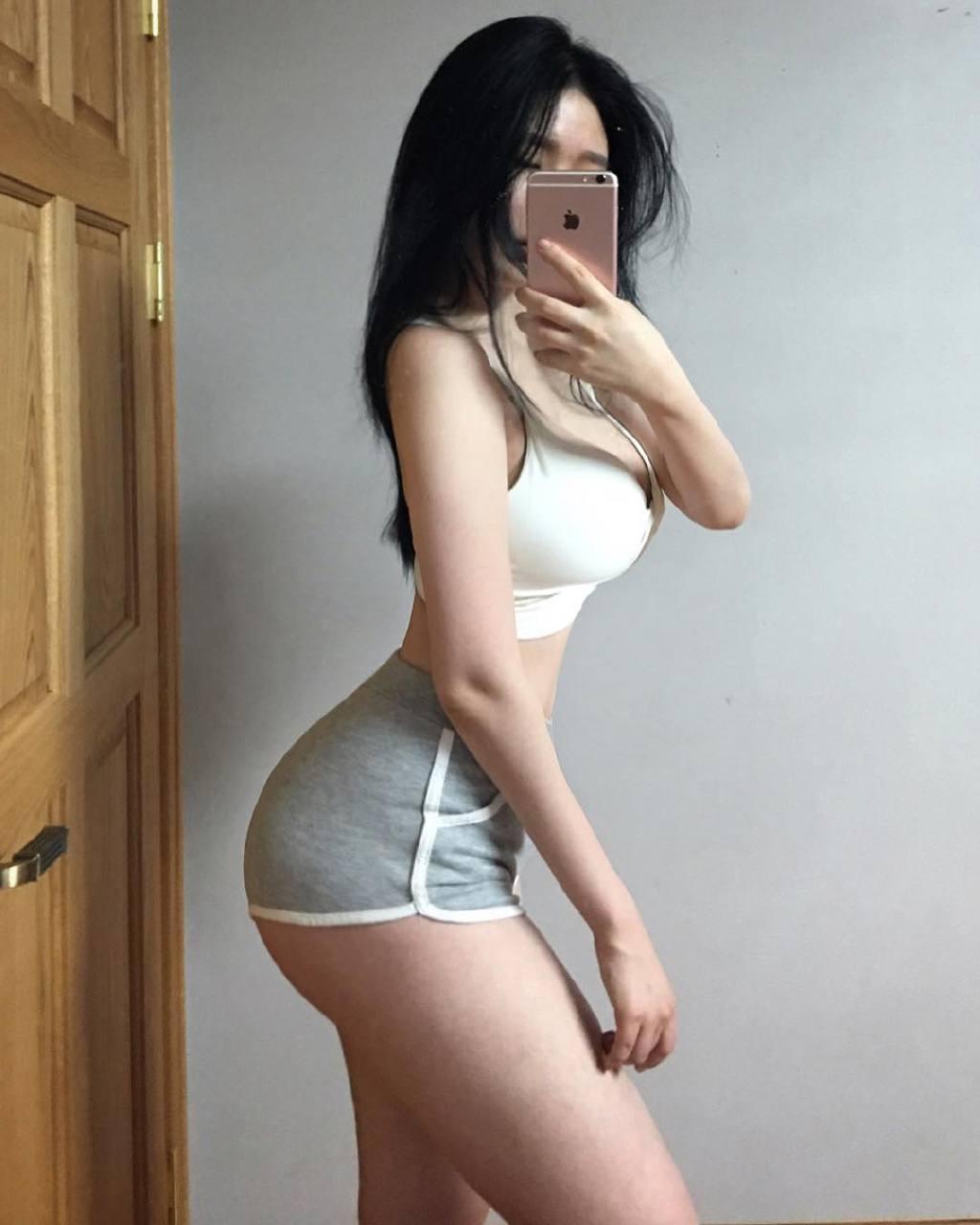 妹子图:爱健身的S型